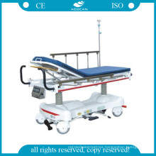 AG-Hs006 Luxurious Hydraulic Rise-and-Fall Stretcher Cart with Weight System